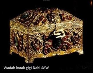 Foto-foto Eksklusif Peninggalan Rasulullah SAW Yang Menggetarkan Cinta ...