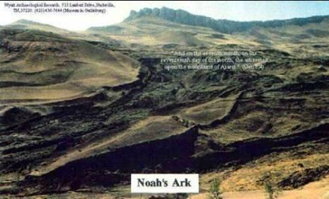 Foto Perahu Nabi Nuh