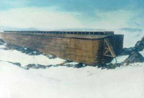 Perahu Nabi Nuh Ditemukan di Turki Gan