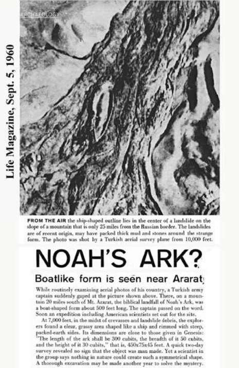 Menakjubkan: Perahu Nabi Nuh AS Telah Ditemukan Melalui Penelitian Ilmiah