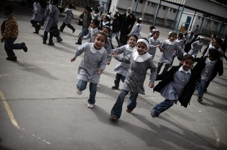 MIDEAST-PALESTINIAN-GAZA-CONFLICT-UN-EDUCATION