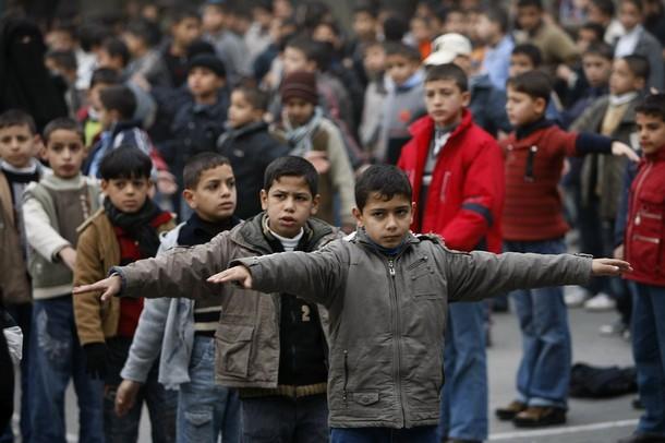 MIDEAST-PALESTINIAN-CONFLICT-GAZA-UN-EDUCATION